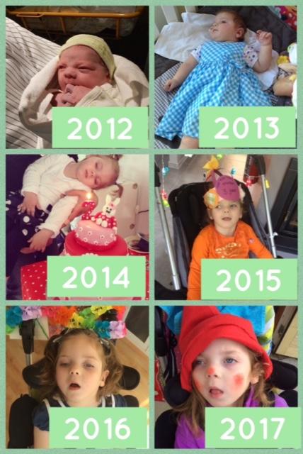 Mirthe 5 jaar: Ode aan familie en vrienden